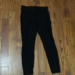 Pipped black Zara leggings